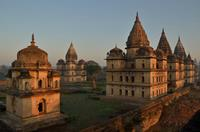 Cenotaphs of Bundela Rulers , Orchha